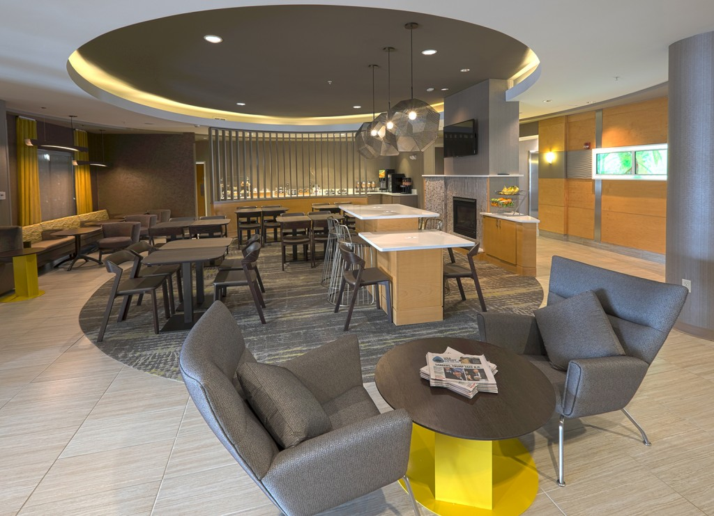 Springhill suites albany renovation is complete capital for Springhill designs