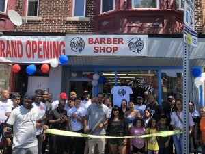 Will's Barbershop cuts ribbon to celebrate grand opening