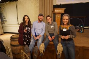 Four local professionals attend PechaKucha Night in Albany, NY